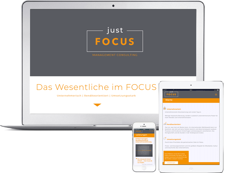 justFOCUS GmbH Management Beratung